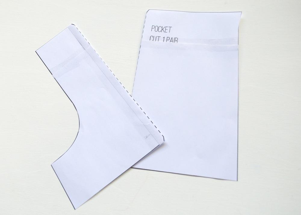 split pocket piece explorer skirt pattern hack