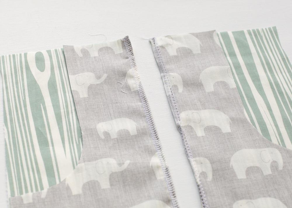 zig zag or overlock seams explorer skirt pattern hack