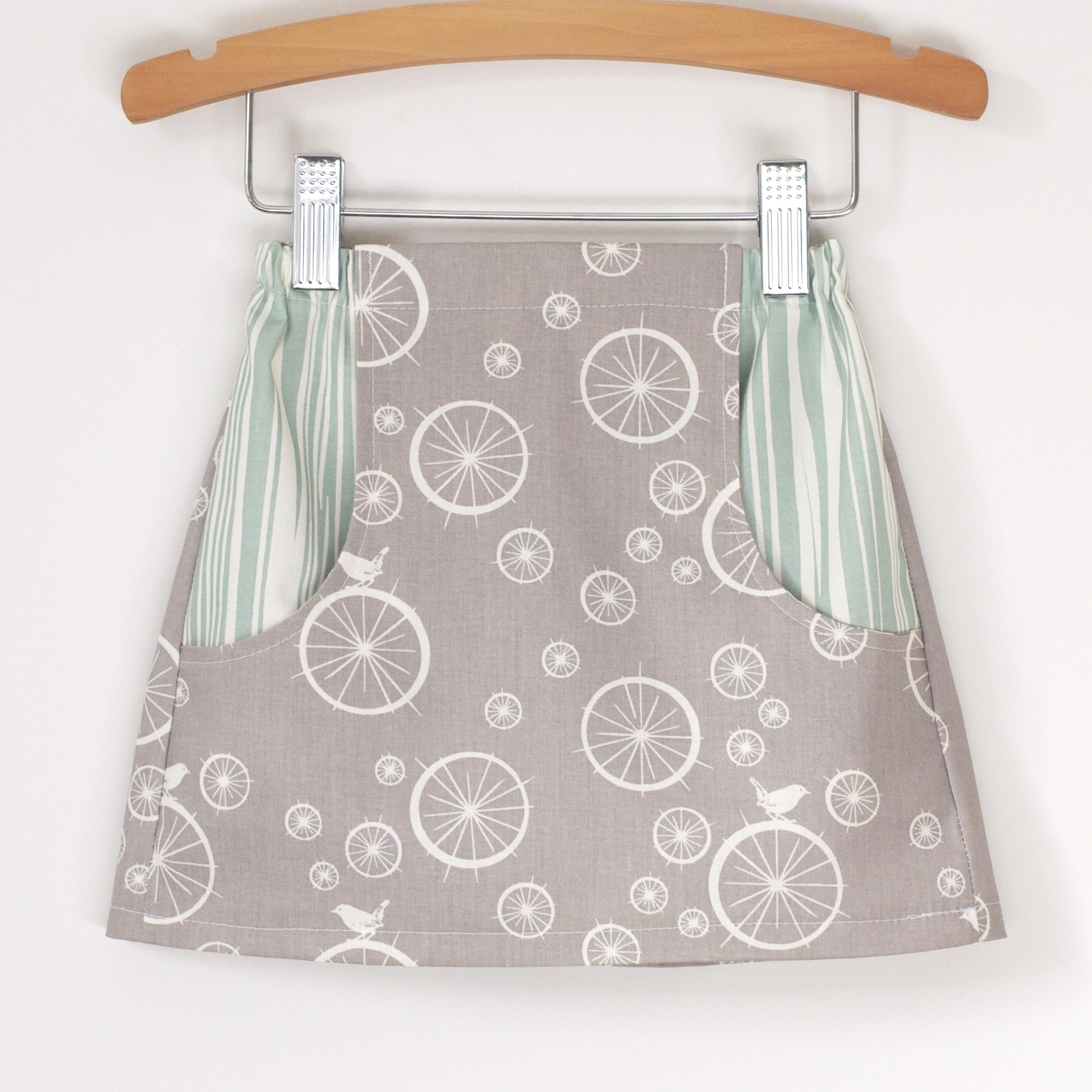 Explorer Skirt - digital girls skirt pattern - Hey There Threads
