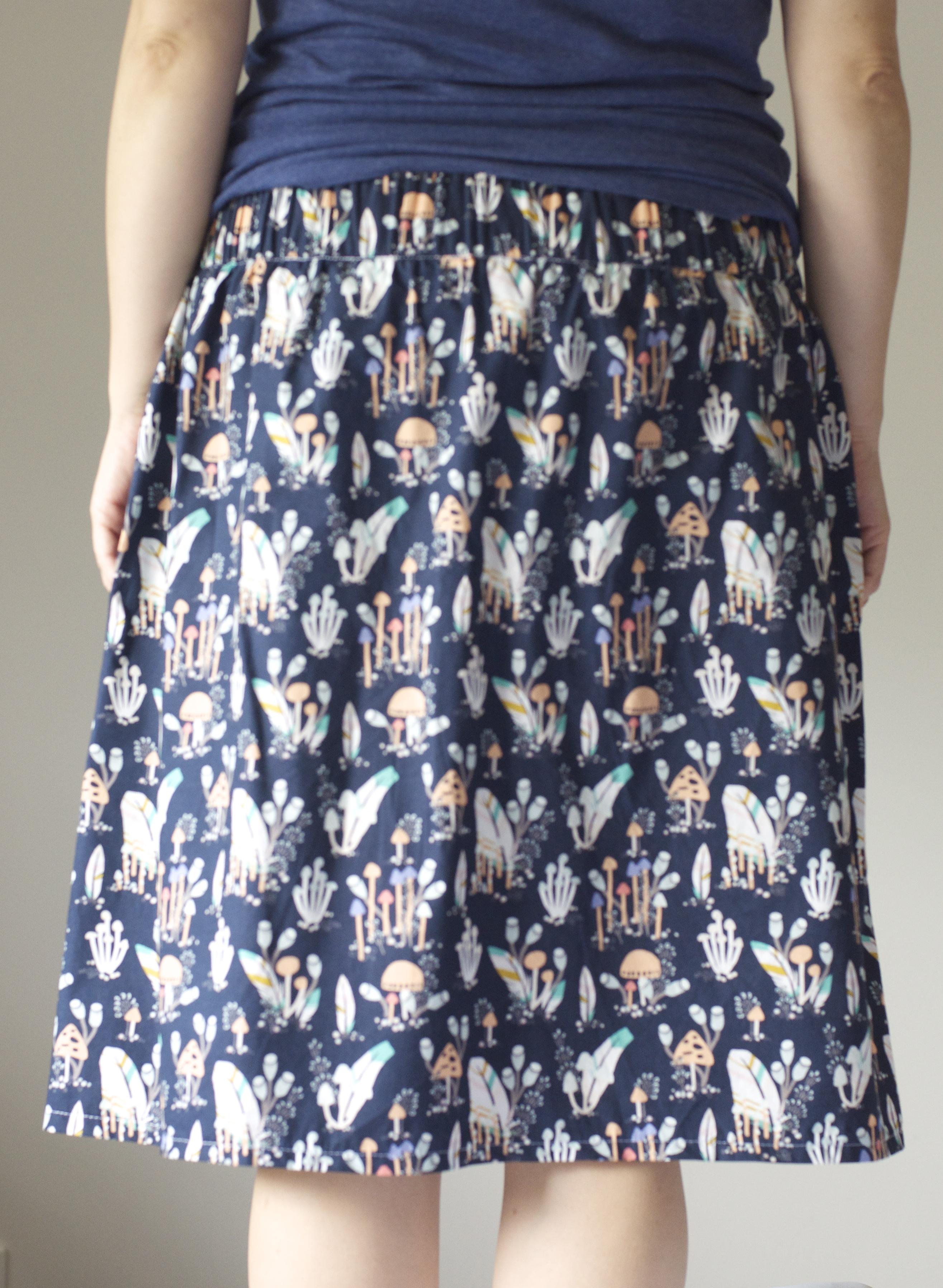 explorer skirt a womens skirt pdf sewing pattern