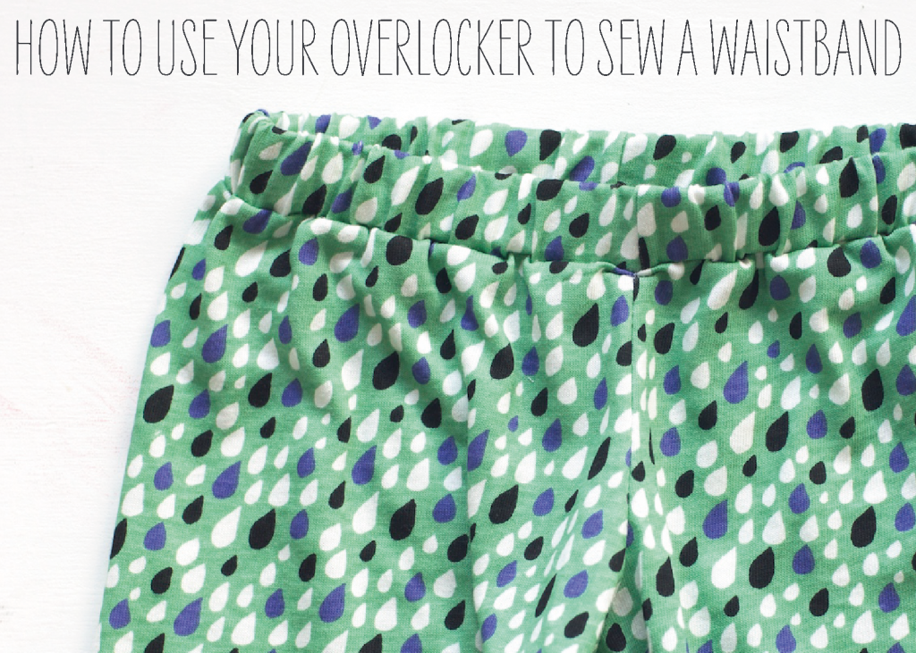 How-to-sew-a-waistband-on-your-overlocker