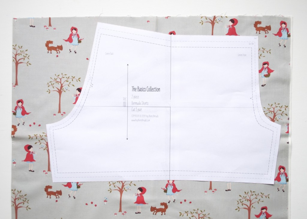basics collection into a bloomers pattern