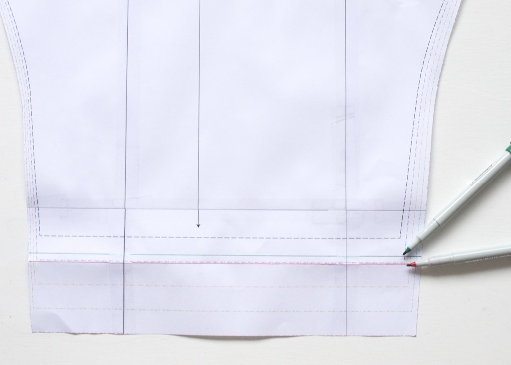modify your pattern to add cuffs